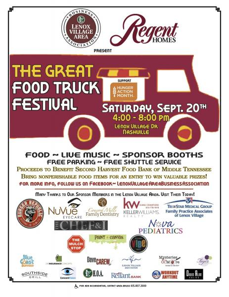 Sept. 20 food truck festival to benefit food bank